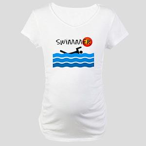 Swimmer Maternity T-Shirt