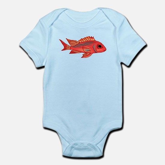 Red Snapper Fish Body Suit