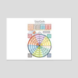 Unit Circle - Notebook Version - Mini Poster Print