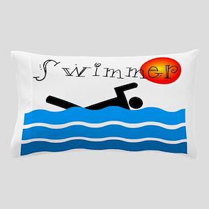 Swimmer Pillow Case