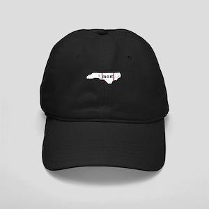 Teeball Mom Shirt North Carol Black Cap with Patch