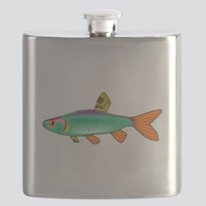 Colorful Spotted Fish Flask