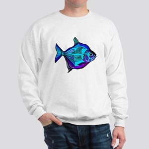 Silver Dollar Fish Sweatshirt