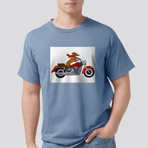 Dachshund on Motorcycle T-Shirt