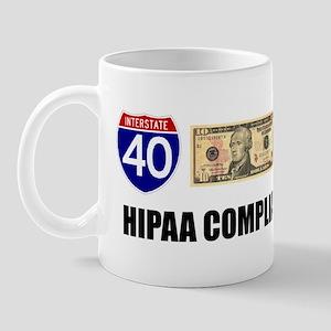 HIPAA compliant 3 Mugs