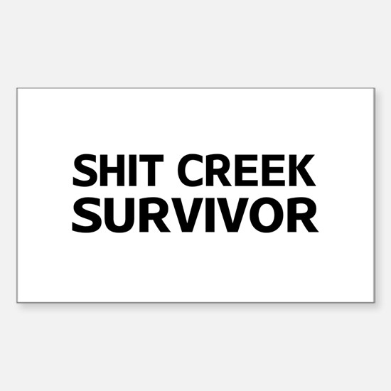 Shit Creek Survivor Decal