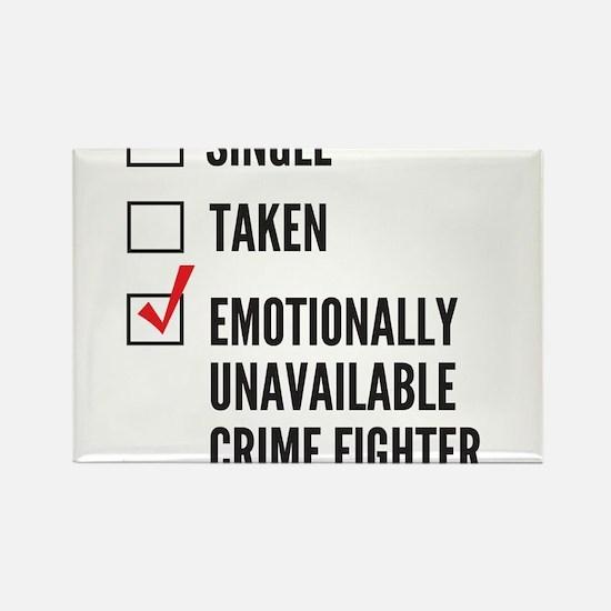 Single Crime Fighter Magnets