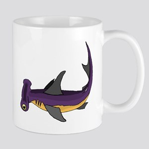 Purple Hammerhead Shark Mugs