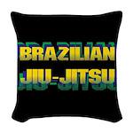 Brazilian Jiu Jitsu Woven Throw Pillow