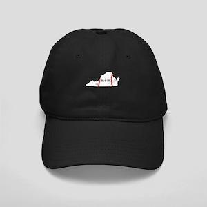 Virginia Tee Ball Mom Shirt Black Cap with Patch