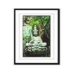 Buddha - Framed Panel Print