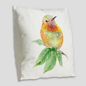 Rufous Hummingbird Watercolor Bird Nature Art Burl