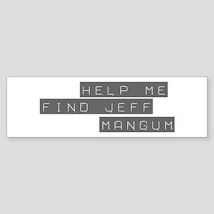Jeff Mangum Bumper Sticker
