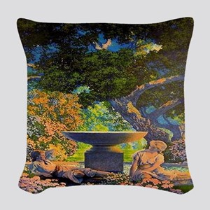 Reveries Woven Throw Pillow