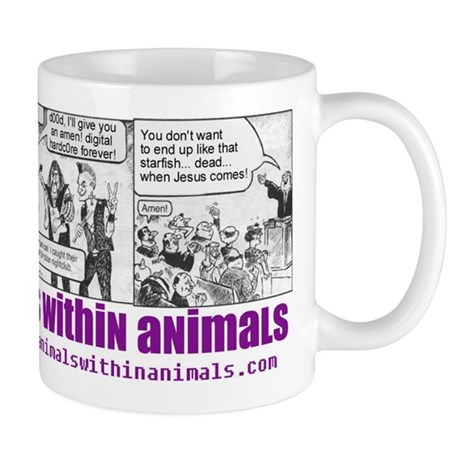 animals within animals mug!