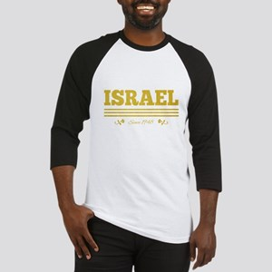 vintage golden Israel since 1948 Baseball Jersey