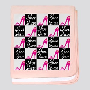 SHOE LOVER baby blanket