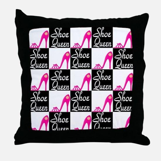 SHOE LOVER Throw Pillow