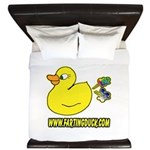 Farting Duck King Duvet