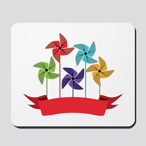 Pinwheel Banner Mousepad