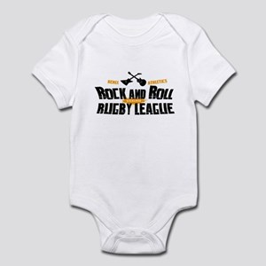 Rock and Roll Rugby League Infant Bodysuit
