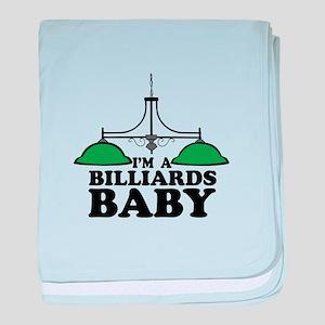Im A Billiards Baby baby blanket