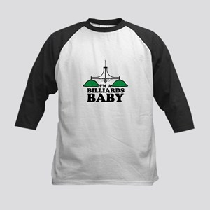 Im A Billiards Baby Baseball Jersey