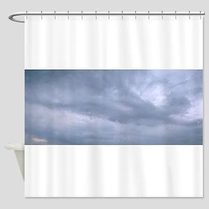 Abstract cloud fairy Shower Curtain
