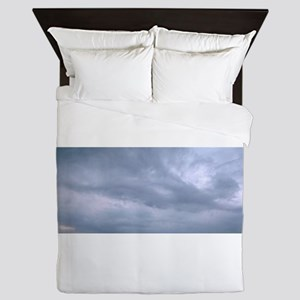 Abstract cloud fairy Queen Duvet