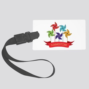 Summertime Luggage Tag