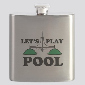Lets Play Pool Flask