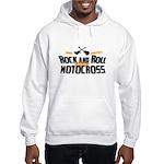Rock and Roll Motocross Hooded Sweatshirt