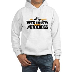 Rock and Roll Motocross Hoodie