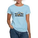 Rock and Roll Motocross Women's Light T-Shirt