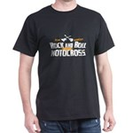 Rock and Roll Motocross Dark T-Shirt