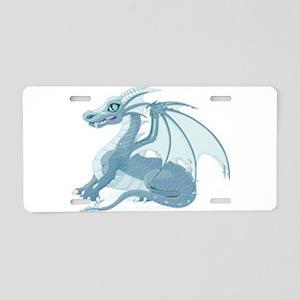 blue ice dragon Aluminum License Plate