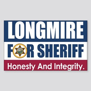 Longmire For Sheriff Sticker