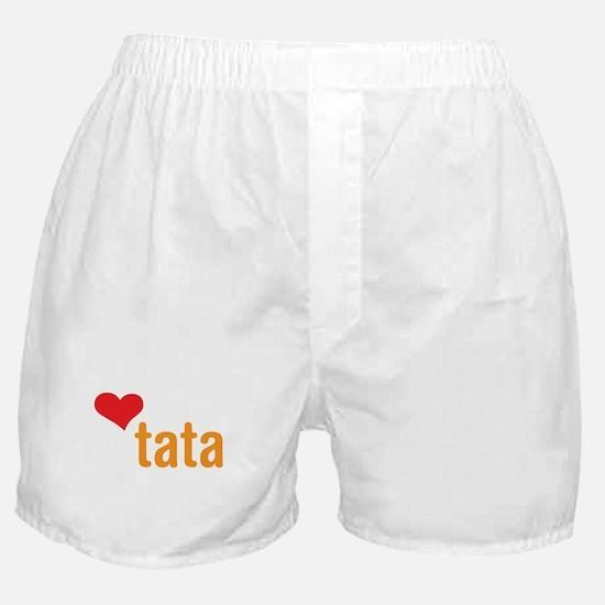 volim tata (I love dad) Boxer Shorts