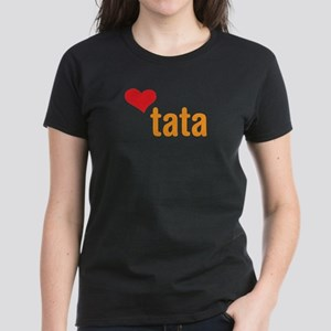 volim tata (I love dad) Women's Dark T-Shirt