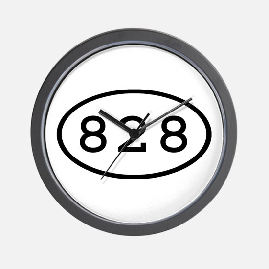 828 Oval Wall Clock