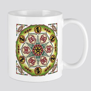 African Adinkra Mandala Mugs
