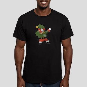 Dabbing Shirt Funny Dabbing Elf Christmas T-Shirt
