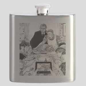 Modern Etiquette Flask