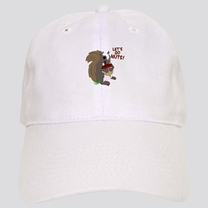 Lets Go Nuts! Baseball Cap