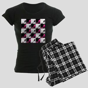 SHOE QUEEN Women's Dark Pajamas