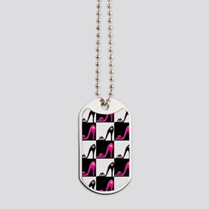 SHOE QUEEN Dog Tags