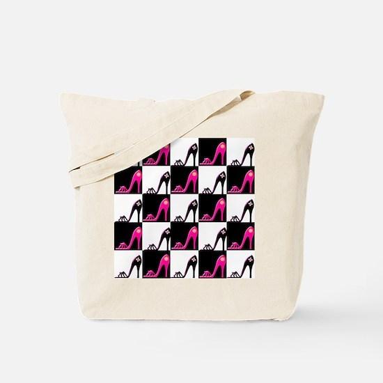 SHOE QUEEN Tote Bag