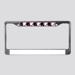 SHOE QUEEN License Plate Frame