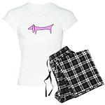 Pink dachshund Pajamas