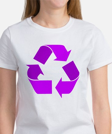purple recycle symbol.png T-Shirt